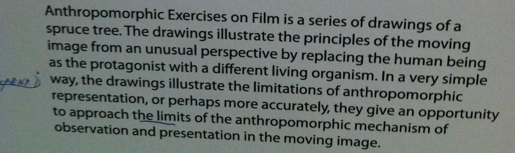 Anthropomorphic exercises