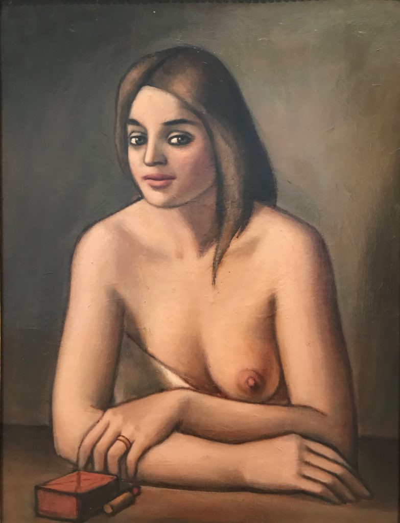 Pompeo Borra - The Nude, 1927, Hermitage St. Petersburg